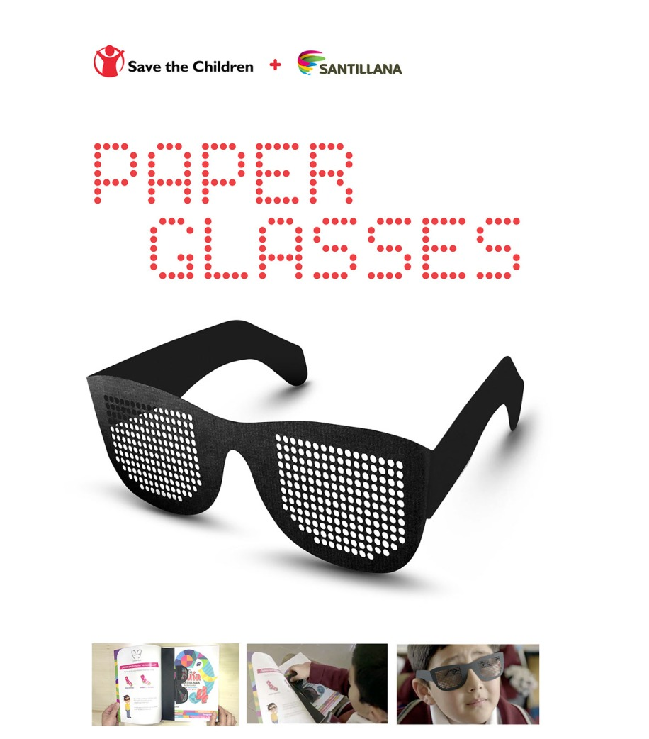 Santillana / Save the Children: Paper Glasses
